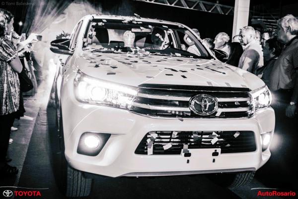 Presentación nueva Toyota Hilux