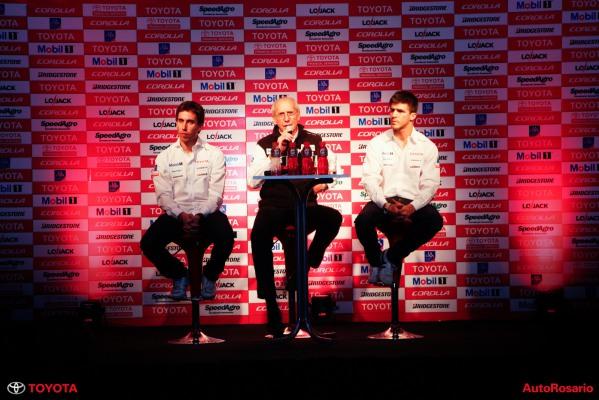 Conferencia de prensa del Toyota Team Argentina