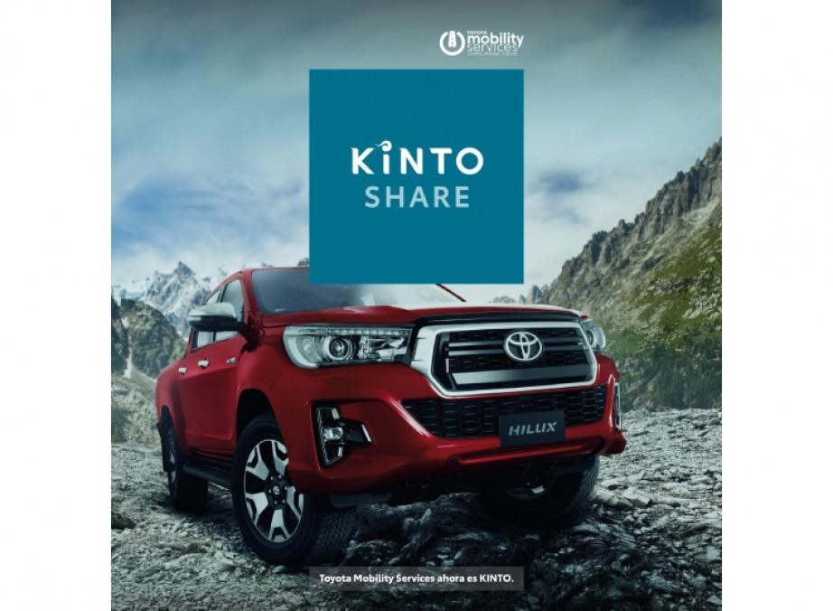 Llega KINTO a la Argentina: la marca de servicios de movilidad de Toyota a nivel global.