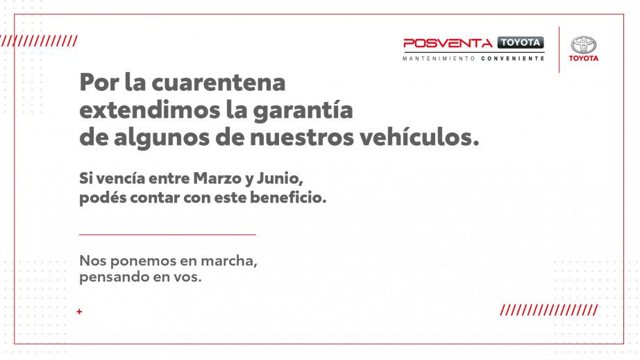 Toyota respalda sus productos, ahora más que nunca