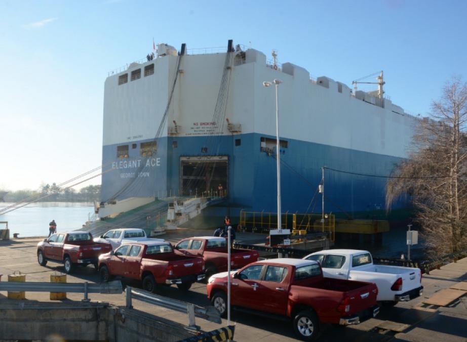 Toyota alcanzó un millón de unidades exportadas desde su planta de Zárate