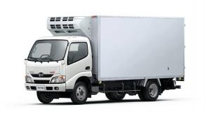 Desembarcan los camiones Hino, propios del grupo Toyota