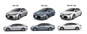 La gama completa del Nuevo Toyota Corolla llega a los concesionarios de todo el país