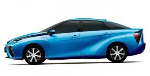 Toyota lanza el modelo FCV alimentado a hidrógeno